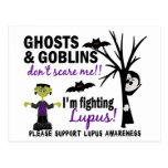 Halloween 1 guerrero del lupus postales
