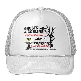 Halloween 1 Juvenile Diabetes Warrior Mesh Hats