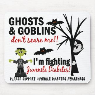 Halloween 1 Juvenile Diabetes Warrior Mouse Pad