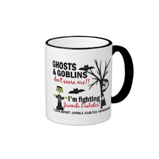 Halloween 1 Juvenile Diabetes Warrior Ringer Coffee Mug