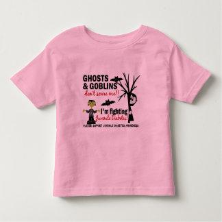Halloween 1 Juvenile Diabetes Warrior Toddler T-shirt