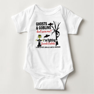 Halloween 1 Juvenile Diabetes Warrior Tshirt