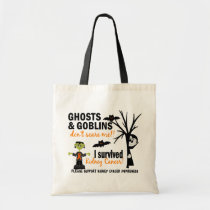 Halloween 1 Kidney Cancer Survivor Tote Bag