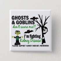 Halloween 1 Kidney Disease Warrior Button