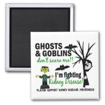 Halloween 1 Kidney Disease Warrior Magnet