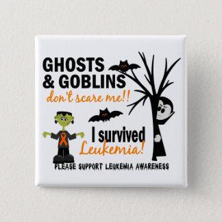 Halloween 1 Leukemia Survivor Button