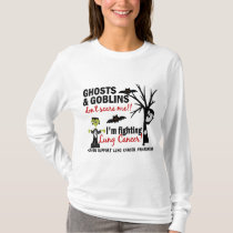 Halloween 1 Lung Cancer Warrior T-Shirt
