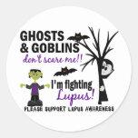 Halloween 1 Lupus Warrior Stickers