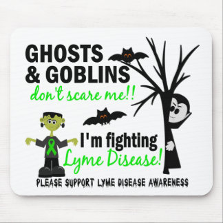 Halloween 1 Lyme Disease Warrior Mouse Pad