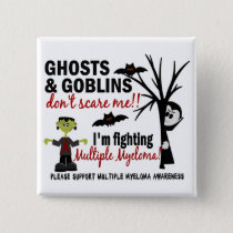 Halloween 1 Multiple Myeloma Warrior Button