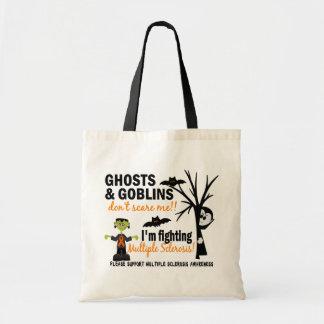 Halloween 1 Multiple Sclerosis Warrior Canvas Bag