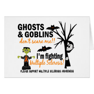 Halloween 1 Multiple Sclerosis Warrior Cards