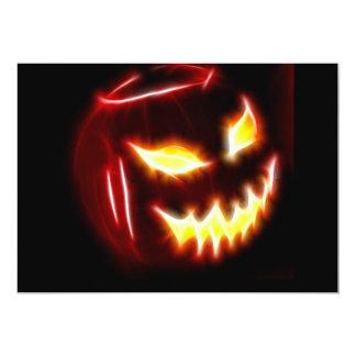 Halloween 1 ninguna invitación del texto