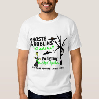 Halloween 1 Non-Hodgkin's Lymphoma Warrior T Shirt