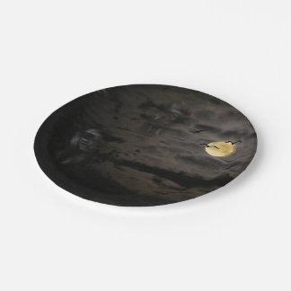 Halloween #1 paper plate