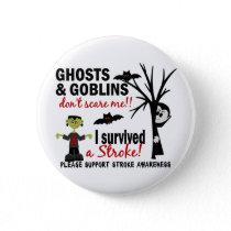 Halloween 1 Stroke Survivor Button