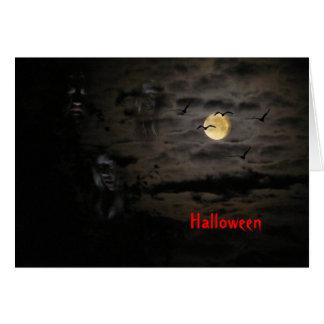 Halloween #1 tarjeta de felicitación