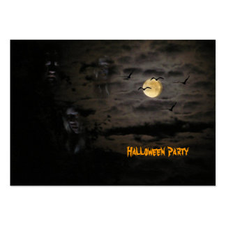 Halloween #1 tarjetas de visita grandes