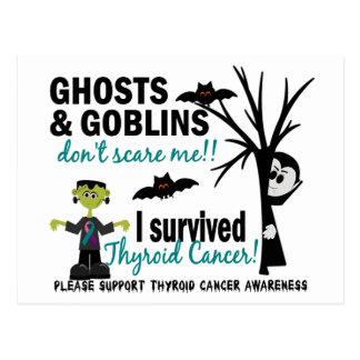 Halloween 1 Thyroid Cancer Survivor Post Cards