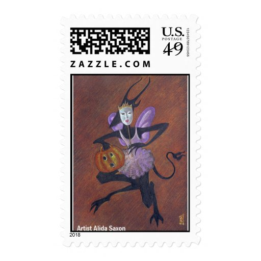 Halloween 1 timbres postales