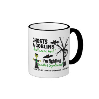 Halloween 1 Tourette's Syndrome Ringer Coffee Mug