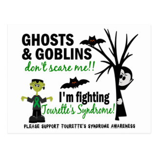 Halloween 1 Tourette's Syndrome Post Cards