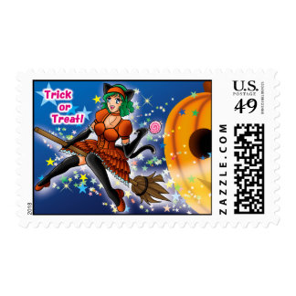 Halloween -2008- postage stamps