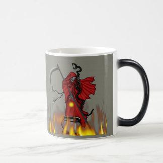 halloween 20092 11 oz magic heat Color-Changing coffee mug