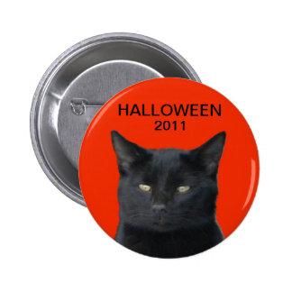 Halloween 2011 - Black Cat Pins