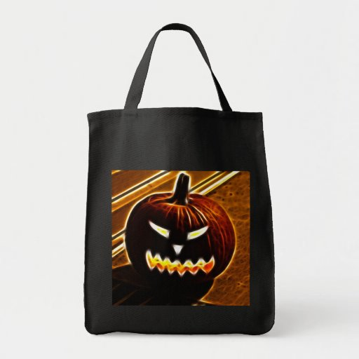 Halloween 2.1 - No Text Grocery Tote Bag