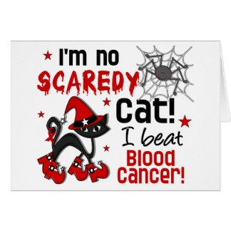 Halloween 2 Blood Cancer Survivor Greeting Card