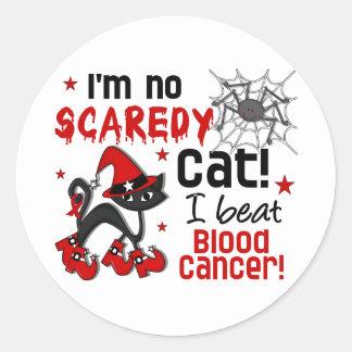 Halloween 2 Blood Cancer Survivor Round Stickers