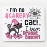 Halloween 2 Breast Cancer Survivor Mouse Pad