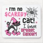 Halloween 2 Breast Cancer Survivor Mouse Pads