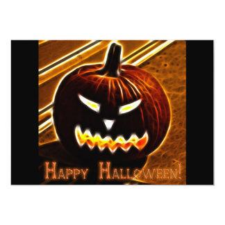 Halloween 2 con la invitación del texto invitación 12,7 x 17,8 cm