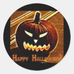 Halloween 2 - ¡Feliz Halloween! Pegatina Redonda