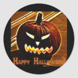 Halloween 2 - Happy Halloween! Classic Round Sticker