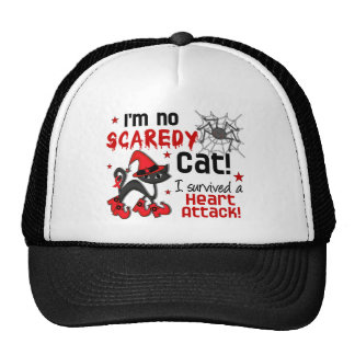 Halloween 2 Heart Attack Survivor Trucker Hats