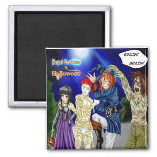 Halloween 2 Inch Square Magnet