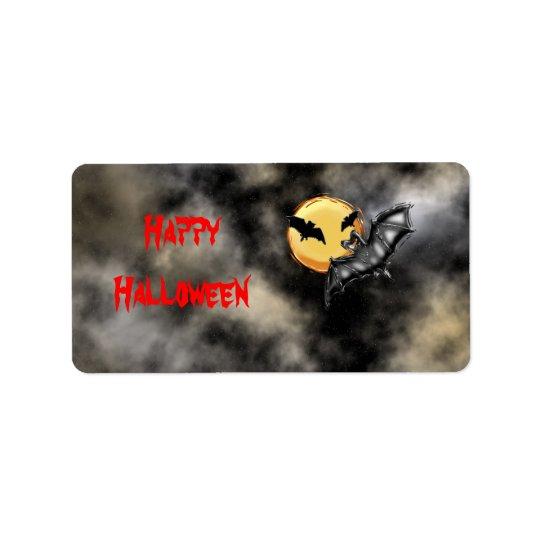 Halloween #2 label