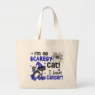Halloween 2 Rectal / Anal Cancer Survivor Jumbo Tote Bag