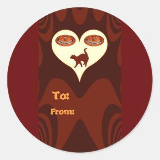 Halloween #2_ round stickers