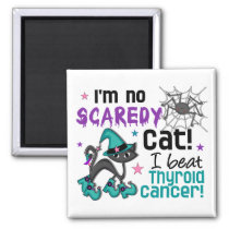 Halloween 2 Thyroid Cancer Survivor Magnet