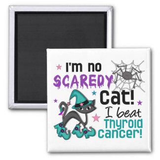 Halloween 2 Thyroid Cancer Survivor Fridge Magnets