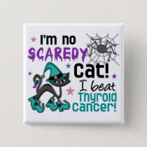Halloween 2 Thyroid Cancer Survivor Pinback Button