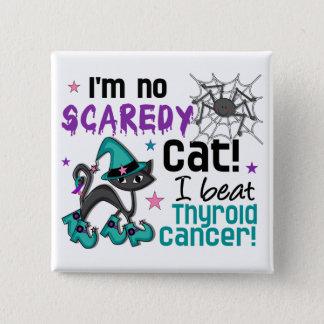 Halloween 2 Thyroid Cancer Survivor Pinback Button
