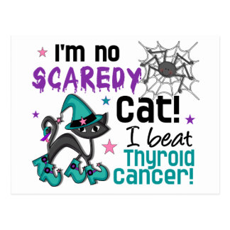 Halloween 2 Thyroid Cancer Survivor Post Card