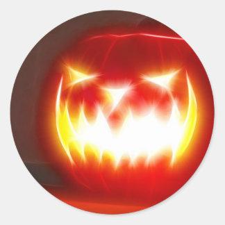 Halloween 3 1 - Ningún texto Pegatina Redonda