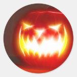 Halloween 3,1 - Ningún texto Pegatina Redonda