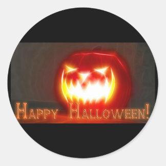 Halloween 3 - Happy Halloween! Classic Round Sticker